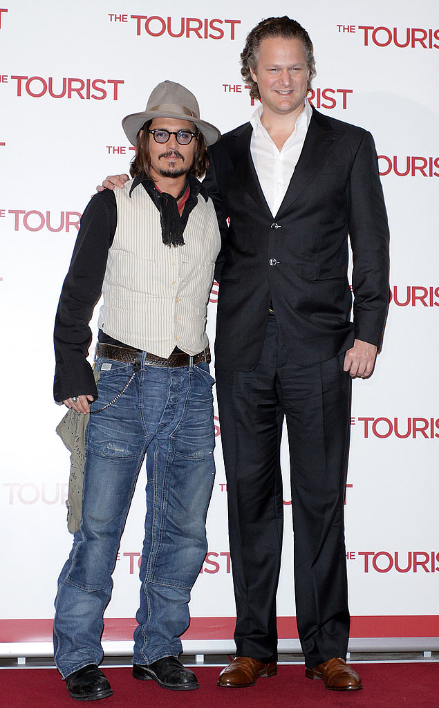 Johnny Depp Brings The Tourist Right Back to Italy