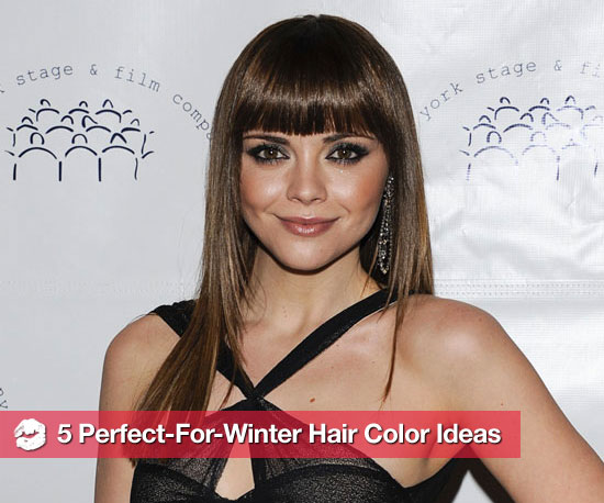 5 Wintry Hair Color Ideas to Take You Right Into the New Season