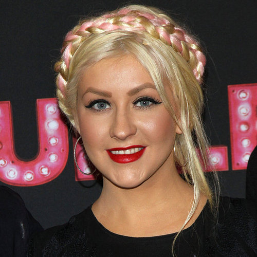 Do you love Christina Aguilera's pink braided hairstyle?