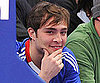 Slide Picture of Ed Westwick at the NY Knicks Game