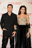 Angelina and Brad Join Johnny to Premiere The Tourist in Madrid