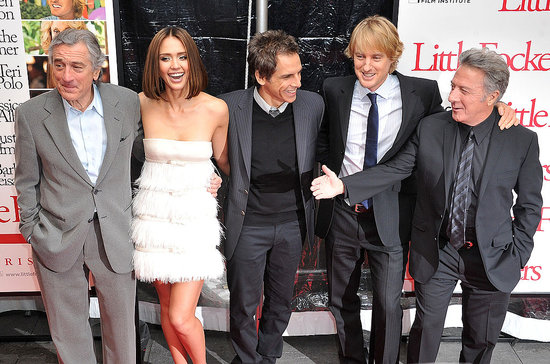 Little Fockers Ben, Owen, and Robert Welcome Jessica Alba