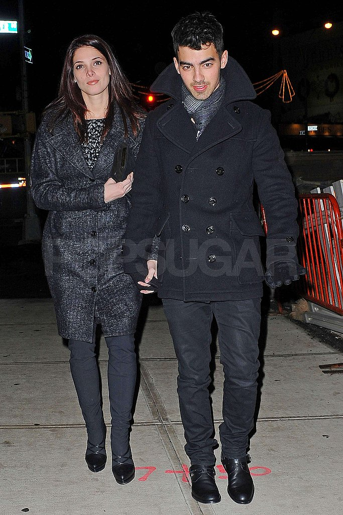 Ashley Greene Takes a Break From the Dawn to Join Joe Jonas in NYC