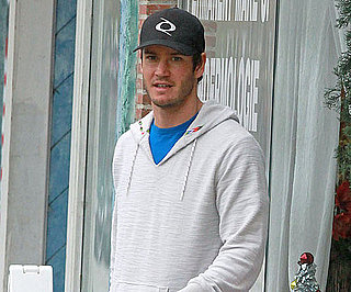 Slide Picture of Mark Paul Gosselaar Leaving the Nail Salon In LA