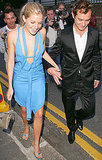 Miller attended a July 2004 Summer party in a strappy, baby-blue dress. Hey, Jude!