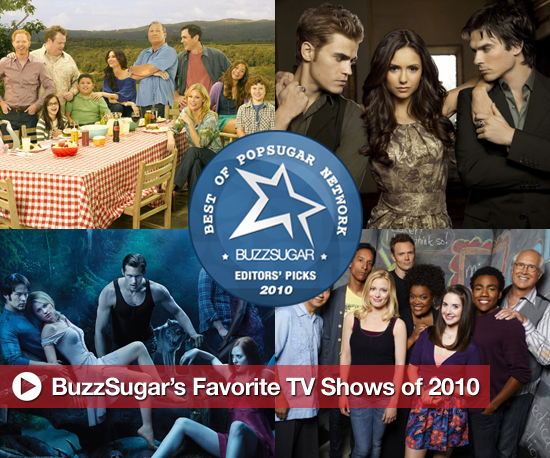 Buzz's Favorite TV Shows of 2010