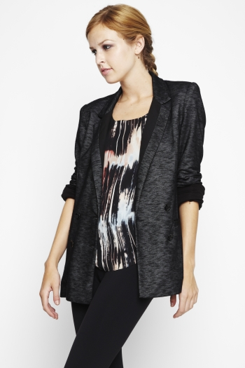 Double-Breasted Boyfriend Jacket ($49, originally $69)