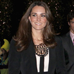 Kate Middleton Wears Temperley Teenage Cancer Trust's Christmas Spectacular in Norfolk
