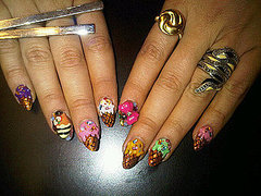 Naomi Yasuda of Hello Beautiful! Salon Makes Nail Art for Lady Gaga, Kim Cattrall, and Alicia Keys