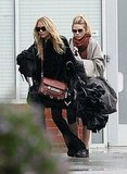 Mary-Kate and Ashley Olsen Get to Work on the West Coast