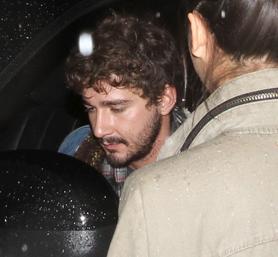 Shia LaBeouf Has a Late Monday Night Out on the Town