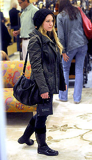 Pictures of Hilary Duff Shopping at Barneys in LA