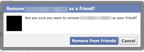 What Would Make You Unfriend?