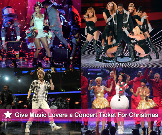 PopSugar's 2010 Christmas Gift Guide: Concert Tickets