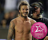 Favorite Male Athlete: David Beckham