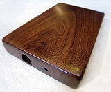 Walnut Wooden External 500GB Hard Drive ($152)