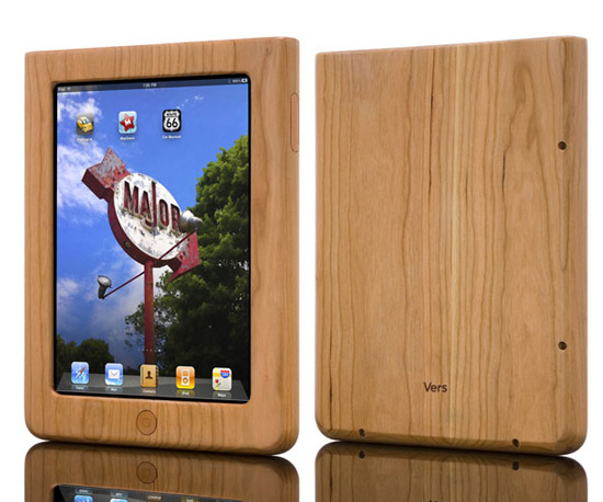 Vers Wooden iPod Case ($80)