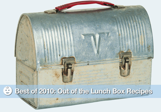 Best of 2010: Out of the Lunch Box Recipes