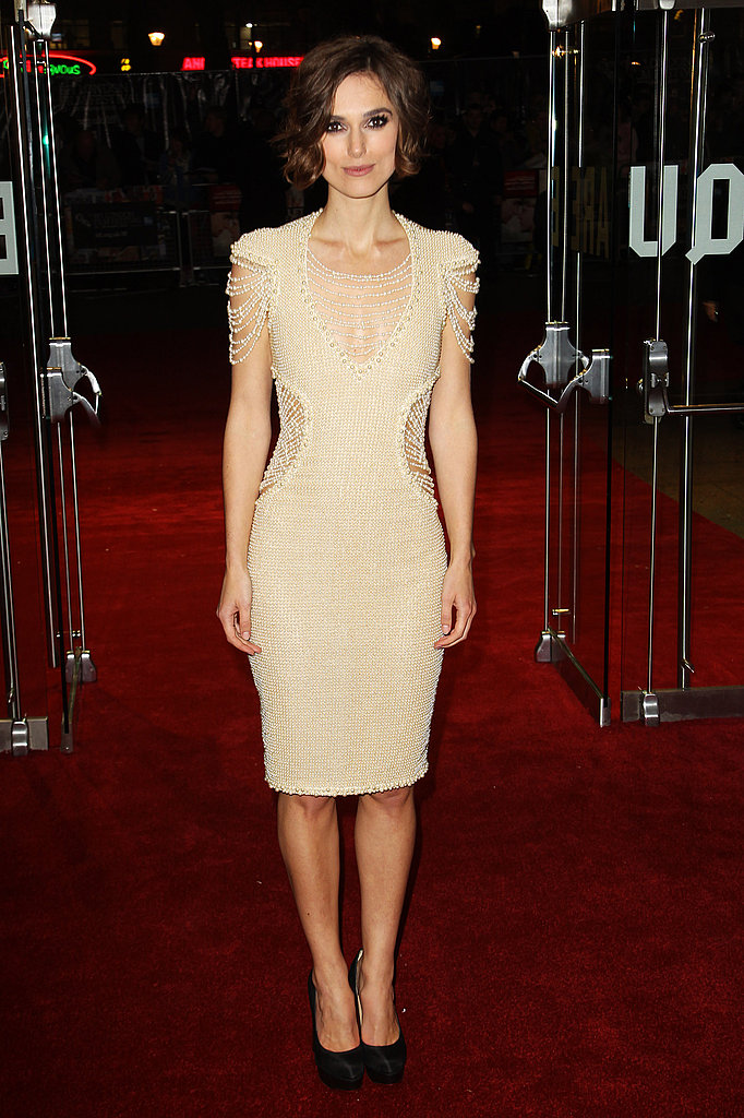 Keira Knightley in Chanel Couture at the Never Let Me Go premiere.