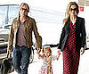 Slide Picture of Nicole Kidman and Keith Urban Leaving Australia With Sunday Rose