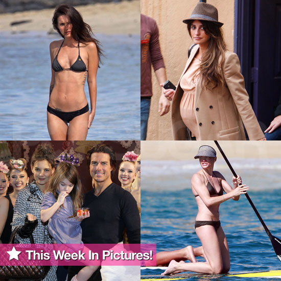 Bikini Clad Megan Fox and Cameron Diaz, Pregnant Penelope Cruz, and More in This Week in Pictures!