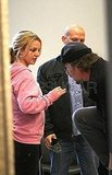 Britney Spears and Jason Trawick Stay Secure at JFK