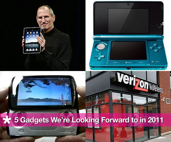 5 Gadgets We're Looking Forward to in 2011