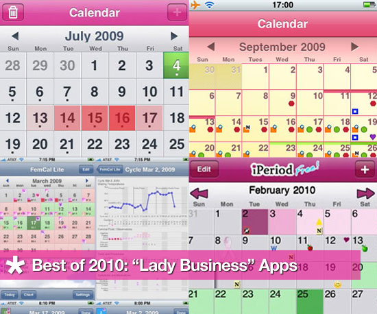 iPhone Apps to Track Your Period