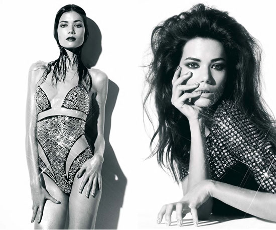 Pictures of Sheila Marquez in Harper's Bazaar Spain