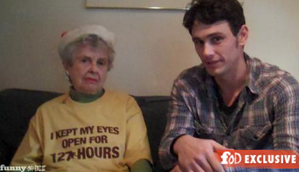 James Franco Christmas Funny or Die Video