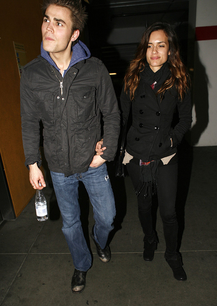 Vampire Diaries' Hot Star Paul Wesley Steps Out For a Romantic Movie Date