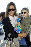 Jessica Alba Brings Her Similarly Stylish Daughter Honor on a NYE Adventure