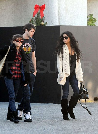 Single Vanessa Hudgens Catches Up With All Her Friends