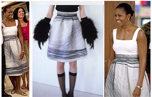 Michelle Obama Wears Jolibe Skirt While on Vacation in Hawaii