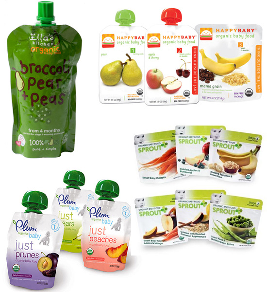 Squeezable Baby Food