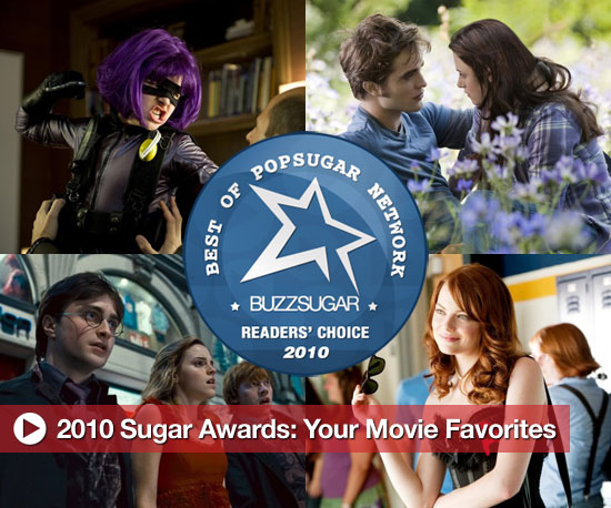2010 Sugar Awards: Your Movie Favorites