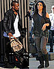 Photos of Kim Kardashian and Kanye West