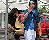 Slide Picture of Demi Moore and Ashton Kutcher in St. Barts