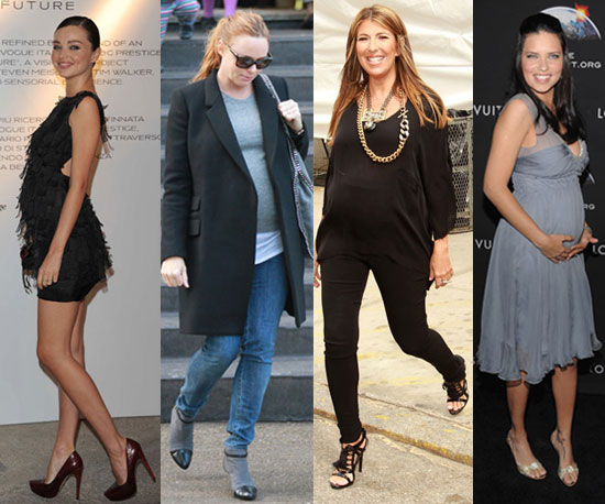 Who's Your Favorite Pregnant Fashionista of 2010?