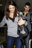 Ashley Greene Has Two Cute Travel Companions Post-Holidays