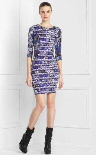 Print Blocked Dress ($72, originally $178)