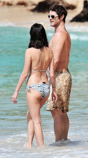 Pictures of Howard Donald and His Girlfriend Katie Halil In Barbados Before New Years Eve 2010 Gig with Take That