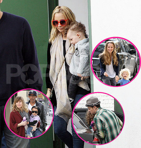 Pictures of Gwen Stefani, Jessica Alba, Ellen Pompeo, Nicole Richie and Their Kids at Harlow Madden's Third Birthday Party