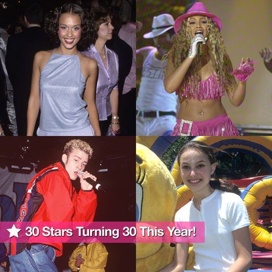 Natalie, Beyoncé, and JT: 30 Stars Who Are Turning 30 This Year!