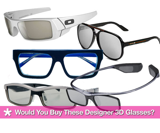 Designer 3D Glasses