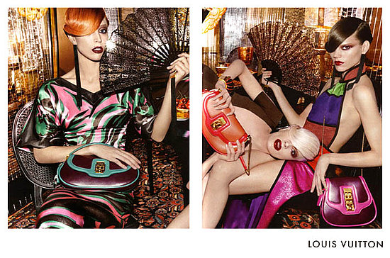 Freja Beha Erichsen, Raquel Zimmermann, and Kristen McMenamy For Louis Vuitton