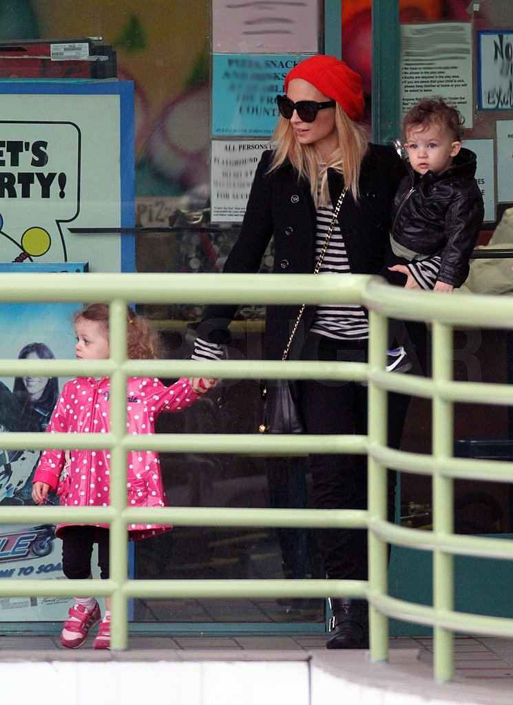 Nicole Richie Dives Into 2011 With Pretty in Pink Harlow and Tough Guy Sparrow