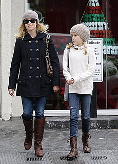 Pictures of Newly Engaged Reese Witherspoon Out in LA With Daughter Ava
