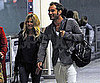 Slide Picture of Jude Law and Sienna Miller at Heathrow