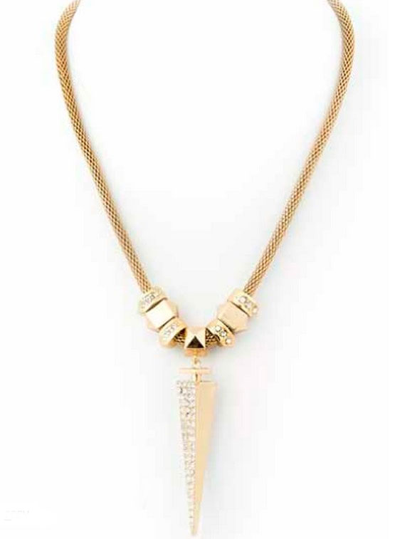 Dagger Pendant in 14kt Yellow Gold ($63)